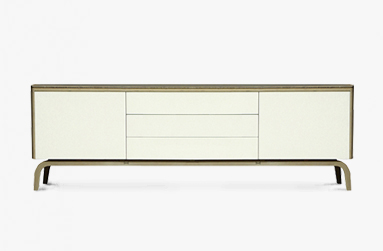 Sideboard in bamboo ply